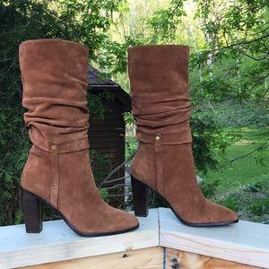Donald J Pliner 9M Odessa slouchy Calf hi boots